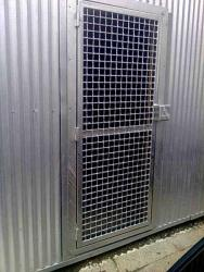 Stainless steel door grill